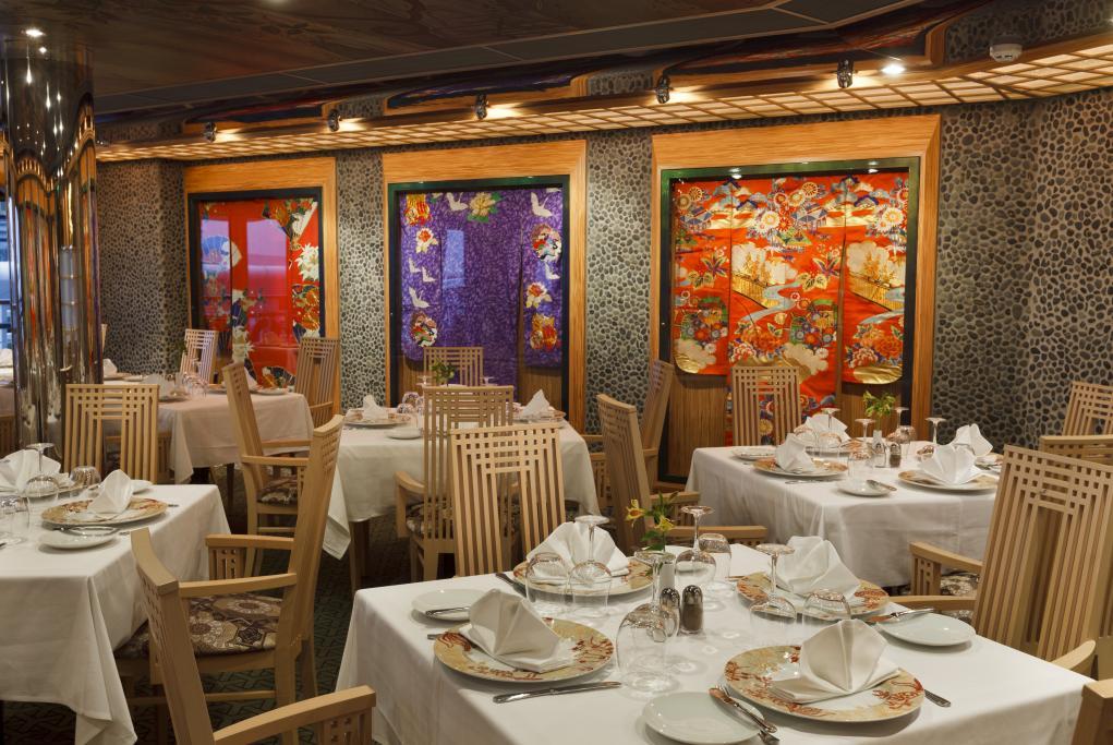 Camarote Restaurante Samsara - Costa Favolosa