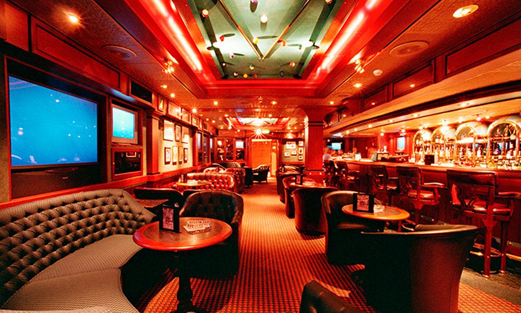 Cigar-Lounge Caribbean Princess