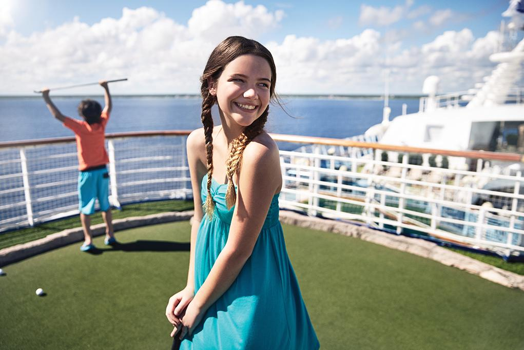 Mini-golf Caribbean Princess