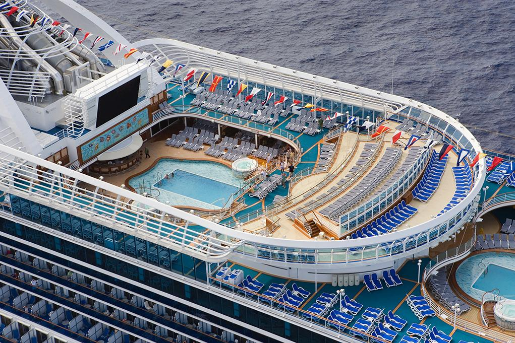 Piscinas Caribbean Princess