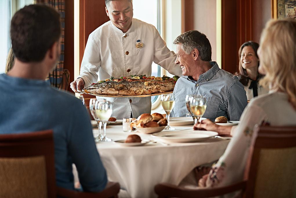 Camarote Restaurantes especialidades - Caribbean Princess