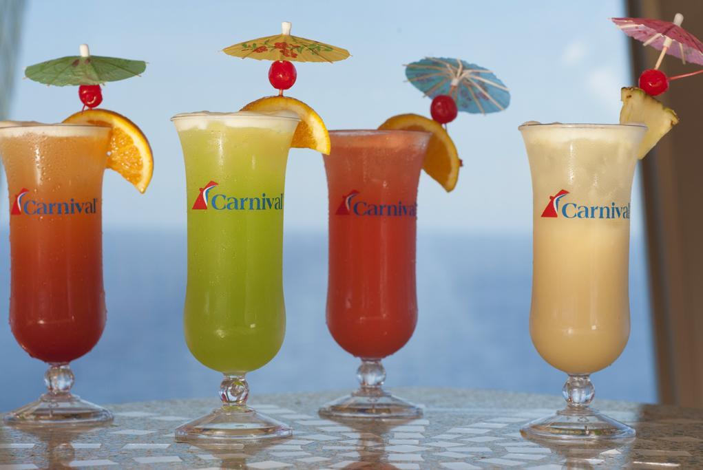 Camarote Cocktails caribeños - Carnival Fantasy