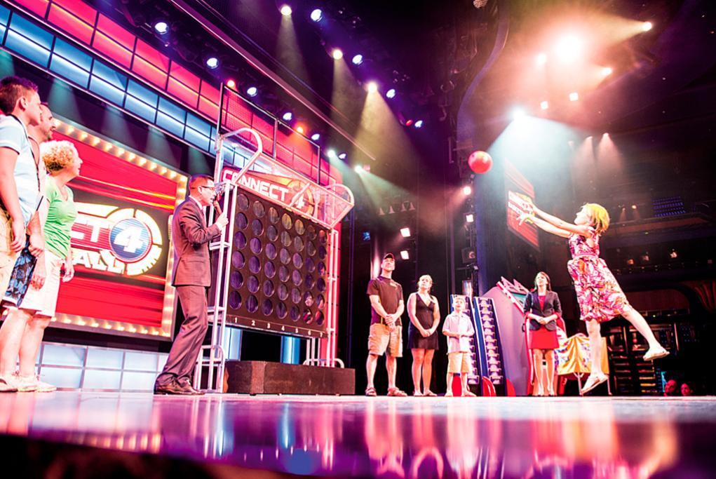 Camarote Juegos gigantes Hasbro - Carnival Sensation