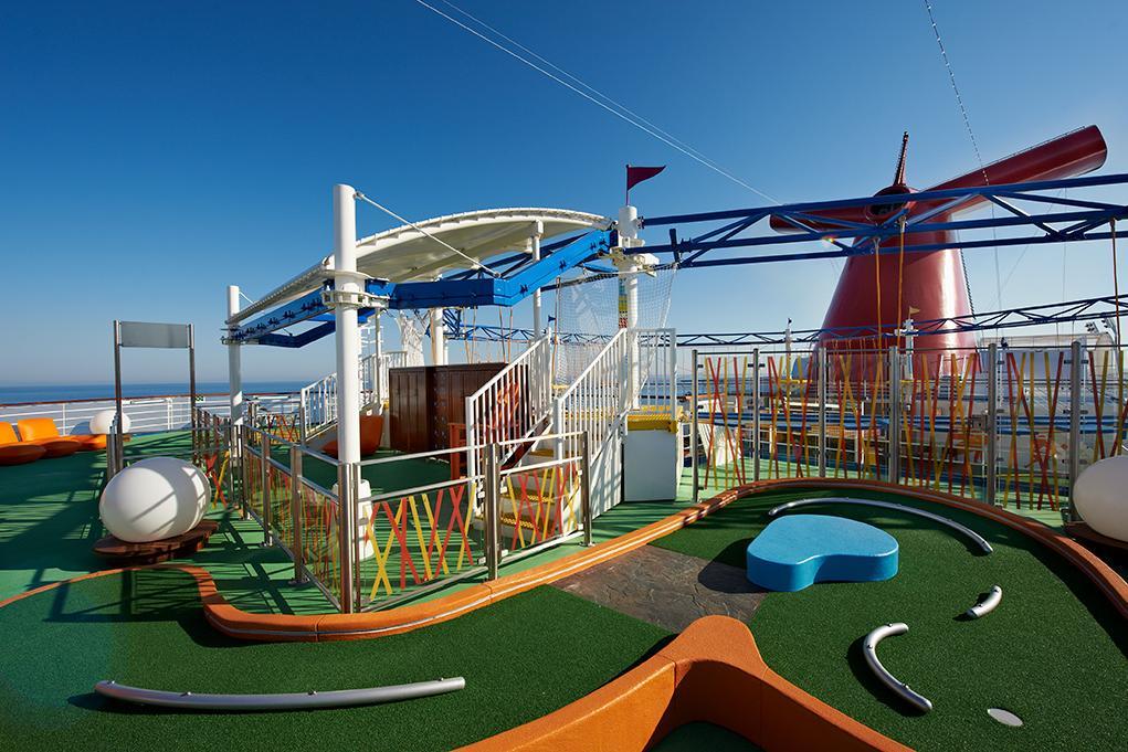 Minigolf Carnival Breeze