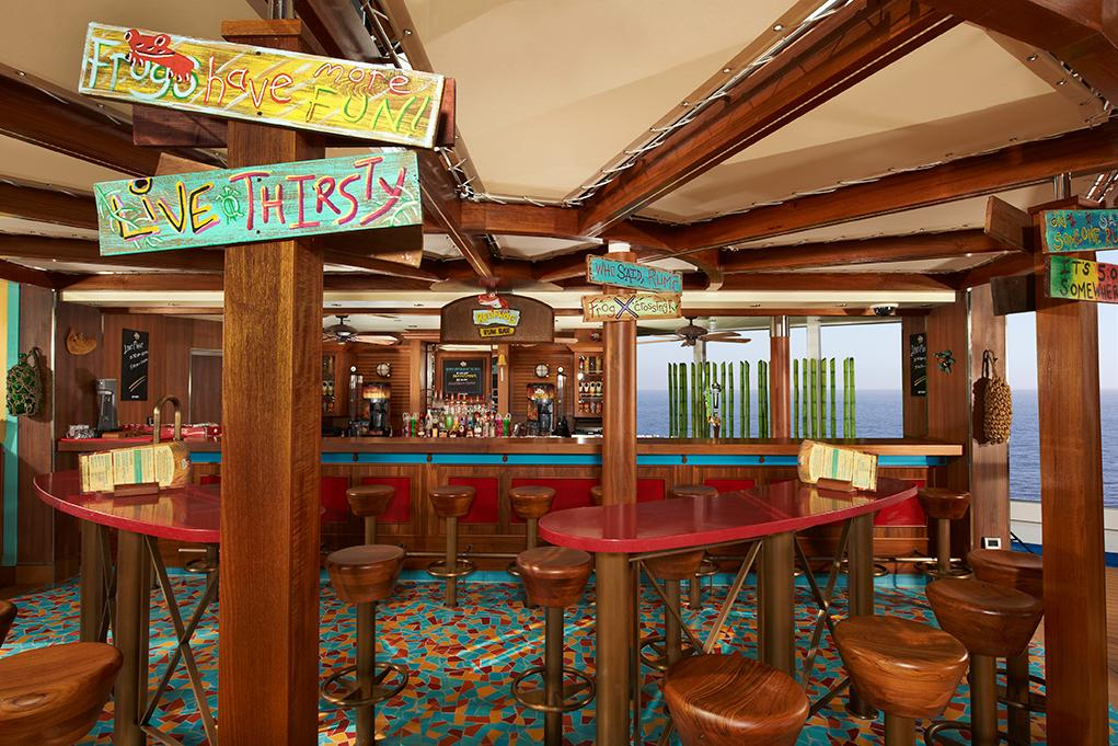 Red-Frog-Pool-Bar Carnival Breeze