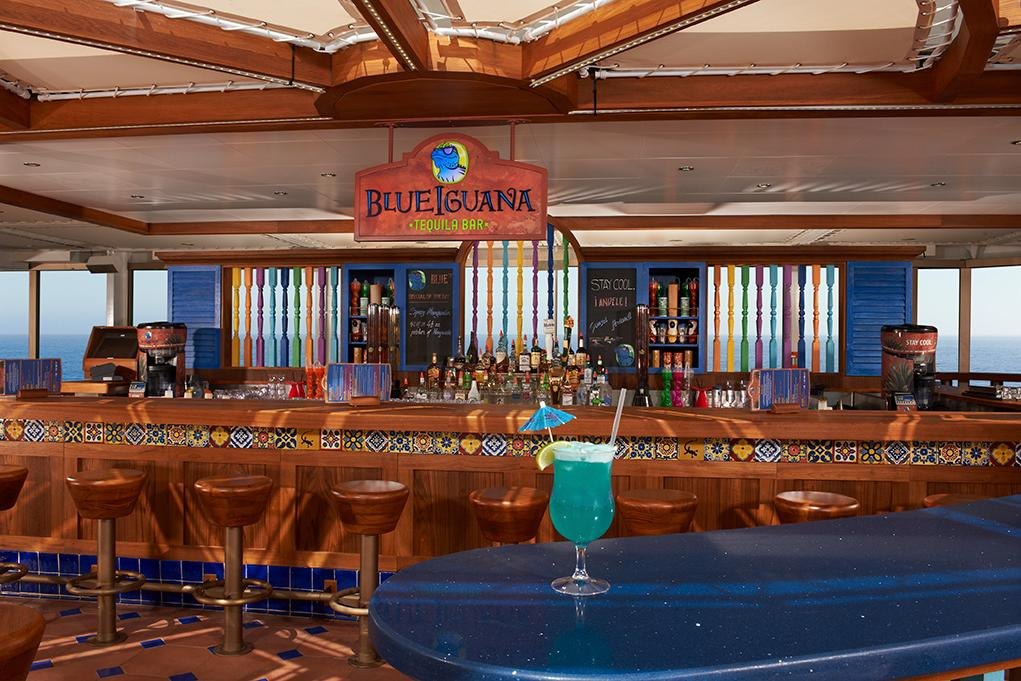 Blue-Iguana-Bar Carnival Conquest