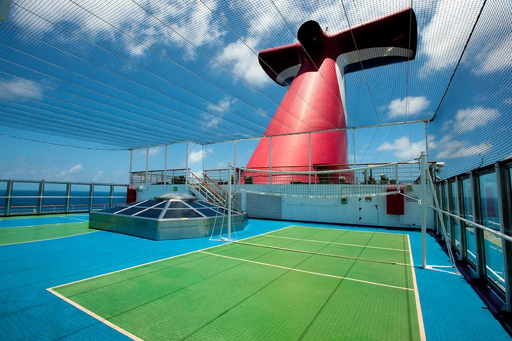 Cancha-de-Volleyball Carnival Conquest