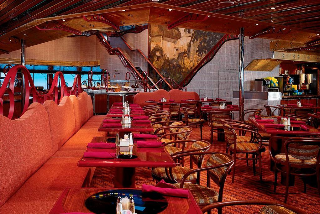 Restaurante-Cezanne Carnival Conquest