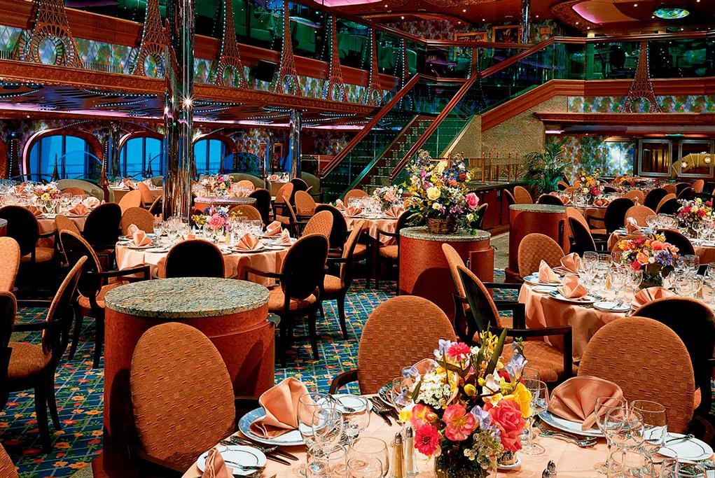 Camarote Restaurante principal - Carnival Conquest