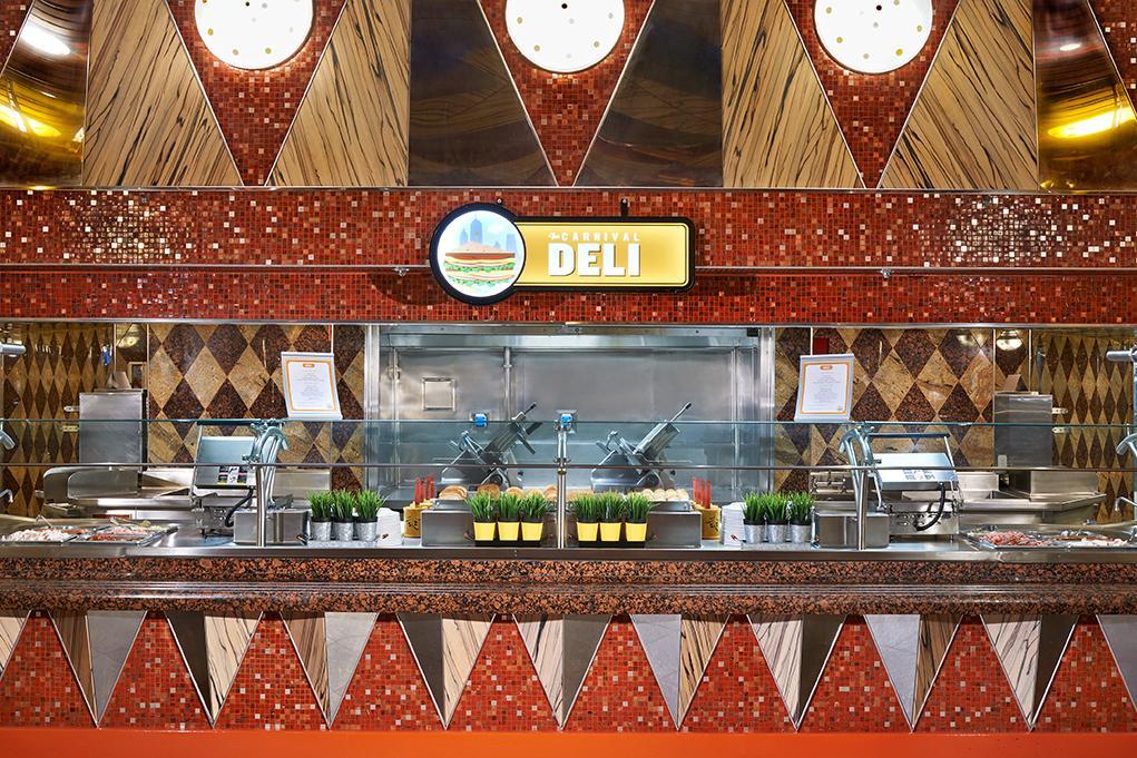 Restaurante-Deli Carnival Dream