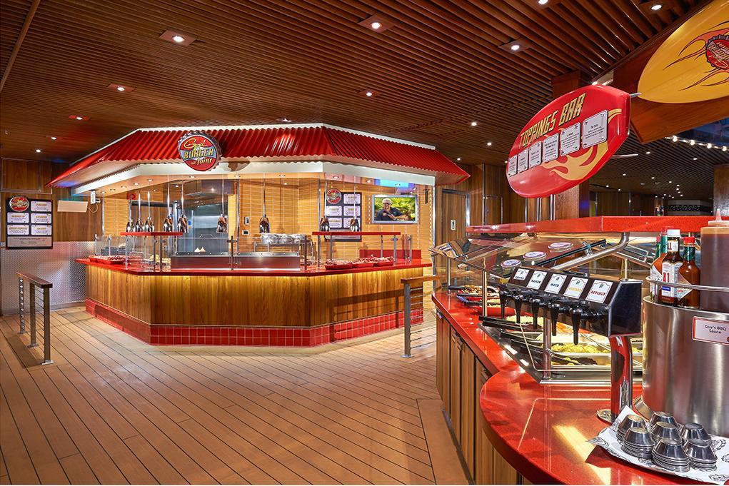 Restaurante-Guys-Burger Carnival Dream