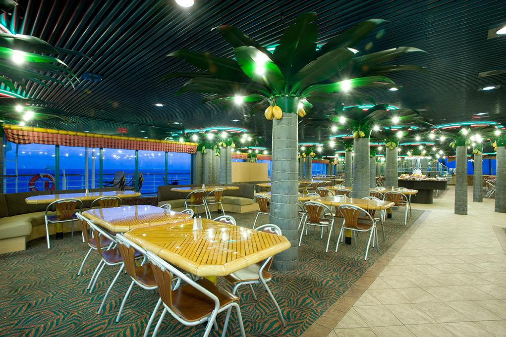 Camarote Buffet Coconut Grove - Carnival Fascination
