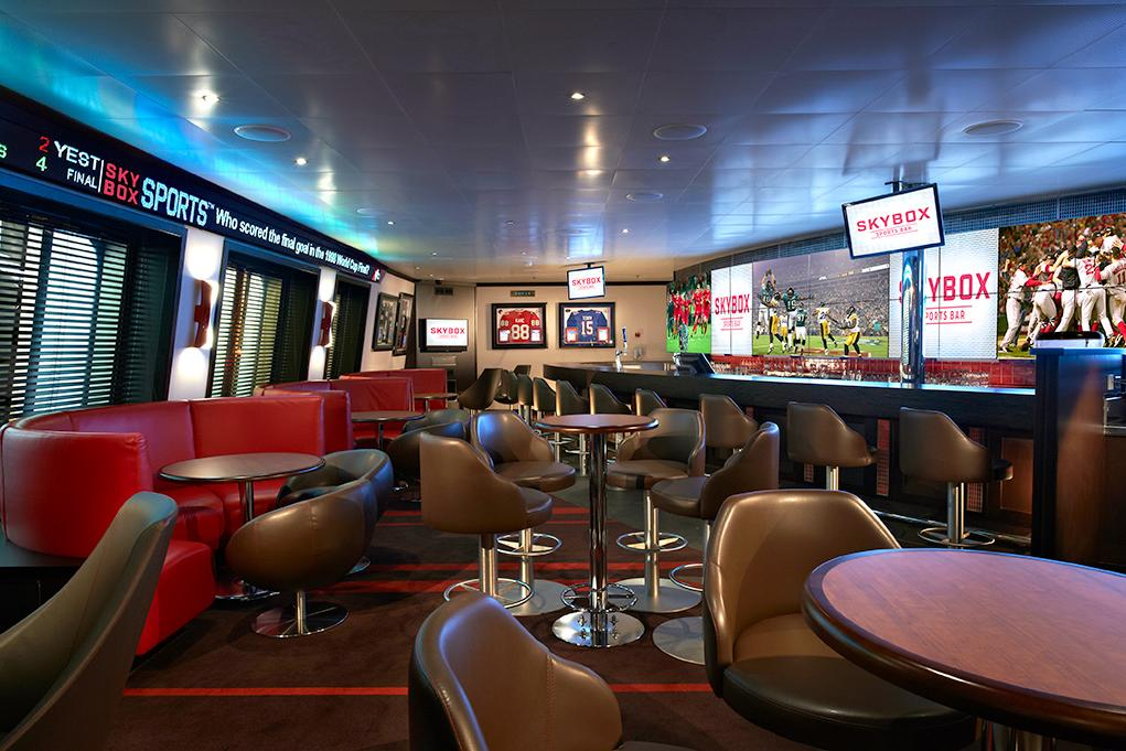 Camarote SkyBox Sports Bar - Carnival Glory