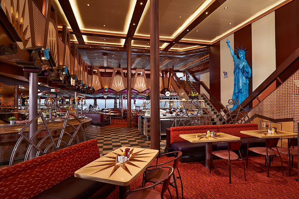 Camarote Freedom buffet - Carnival Freedom