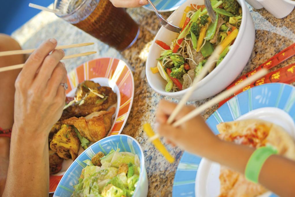 Restaurante-Mogolian-wok Carnival Freedom
