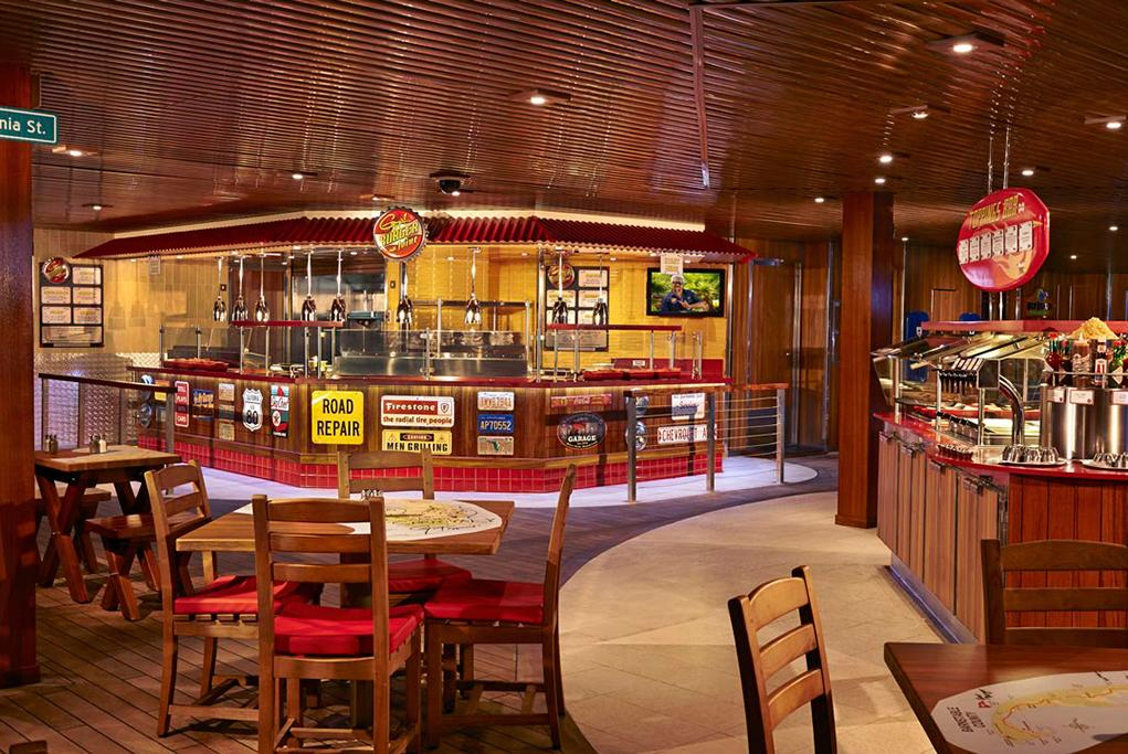 Camarote Guy´s Burguer Joint - Carnival Glory