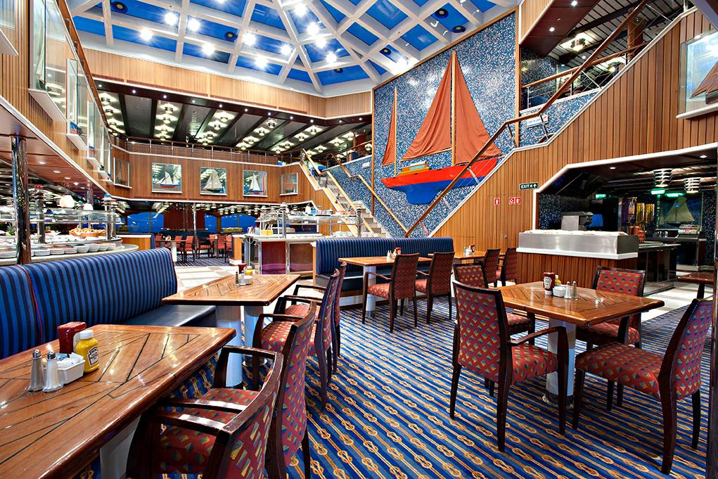 Restaurante-buffet-Red-Sail Carnival Glory