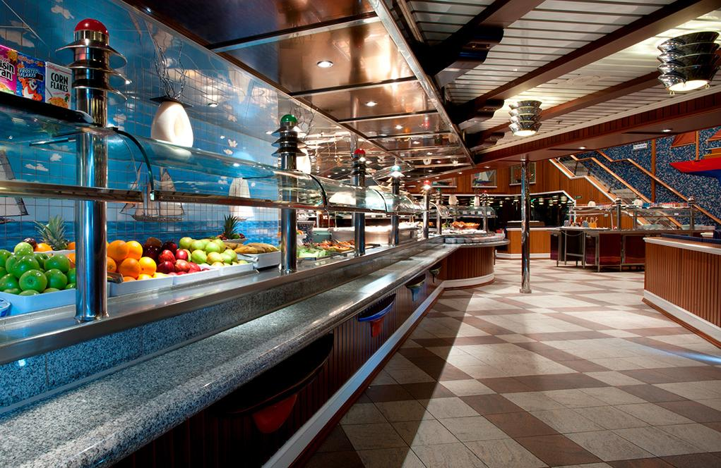 Restaurante-buffet Carnival Glory