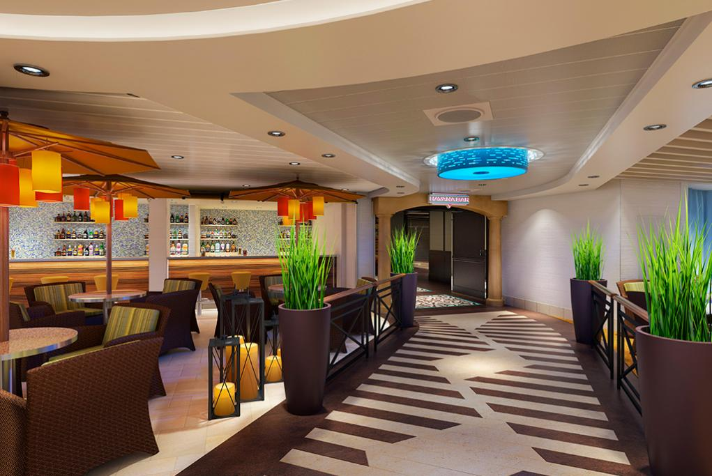 Bar Ocean Plaza Carnival Horizon