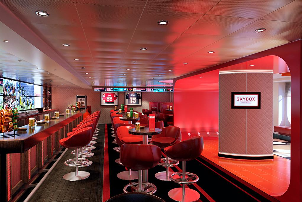 Bar Sports Skybox Carnival Horizon