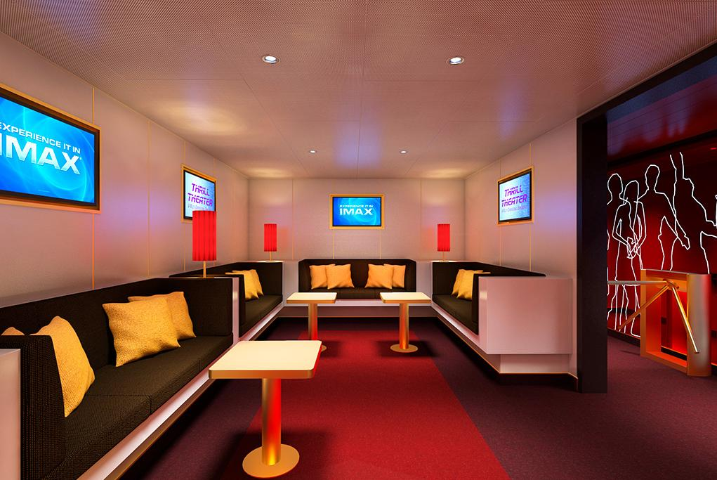 Mulitplex-Lounge Carnival Horizon