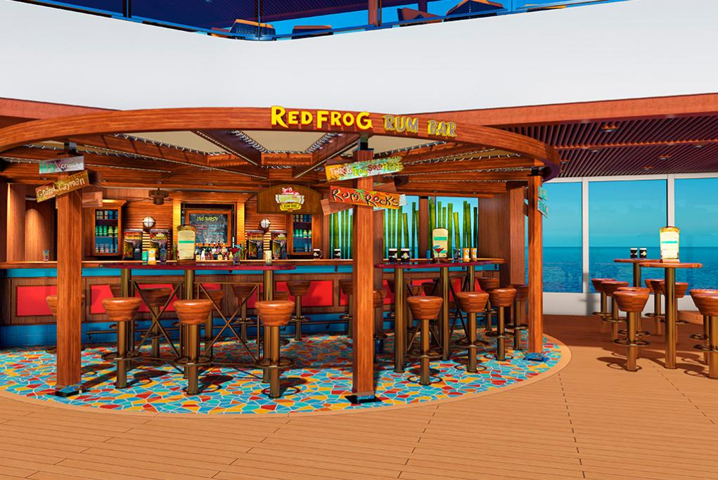 Red Frog Rum Bar Carnival Horizon