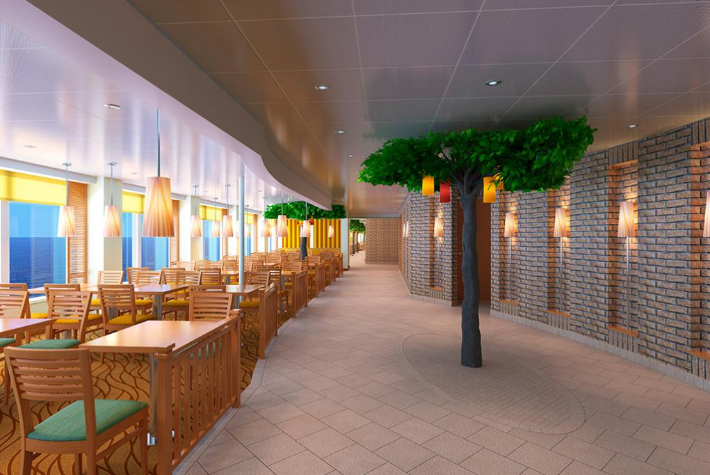 Restaurante-Lido-Markeplace Carnival Horizon