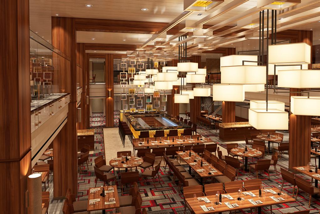 Camarote Main Dining Rooms - Carnival Horizon