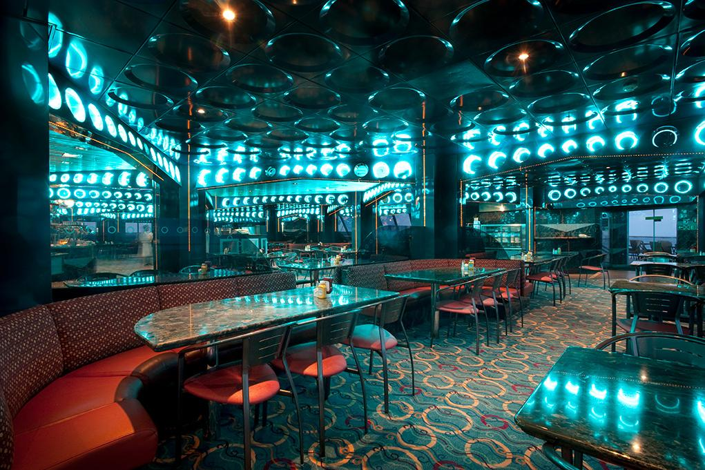 Restaurante-buffet-Horizon Carnival Imagination