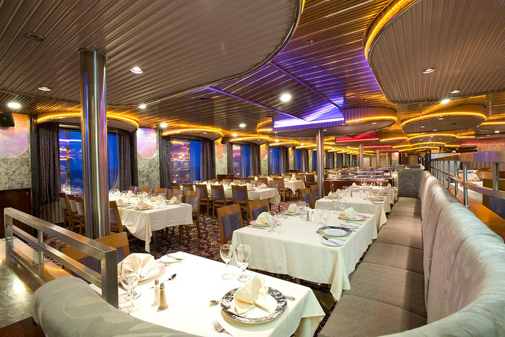 Camarote Spirit & Pride Dining Room - Carnival Imagination