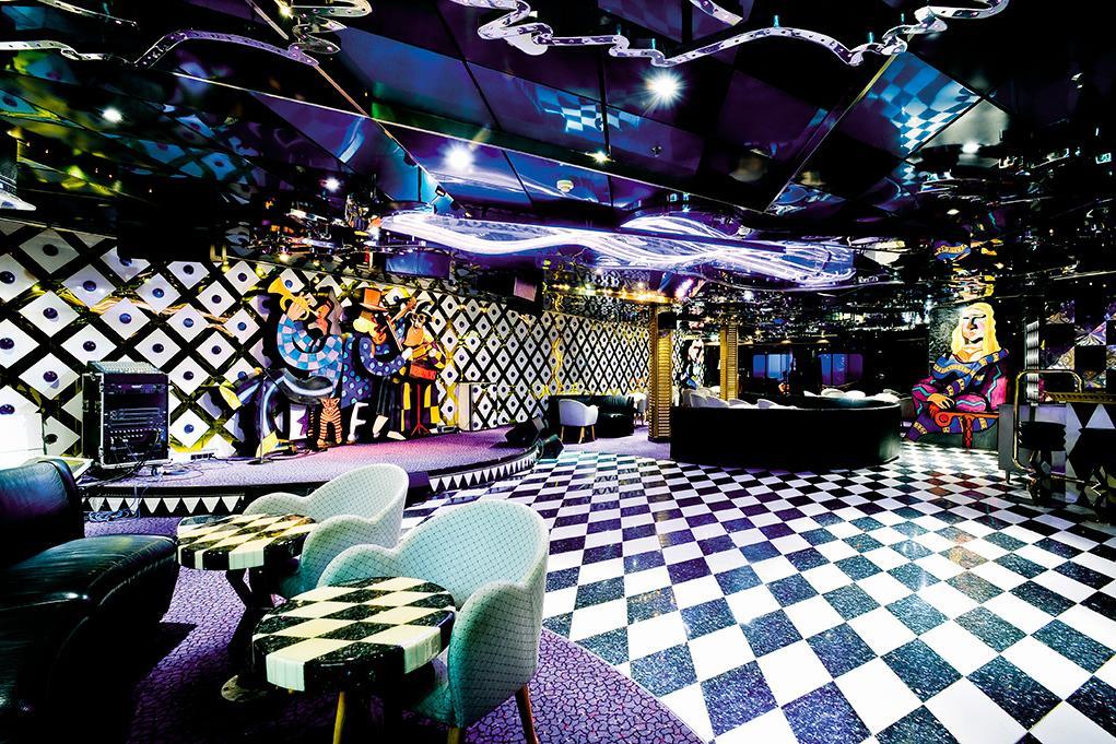 Lounge-Avant-Garden Carnival Inspiration