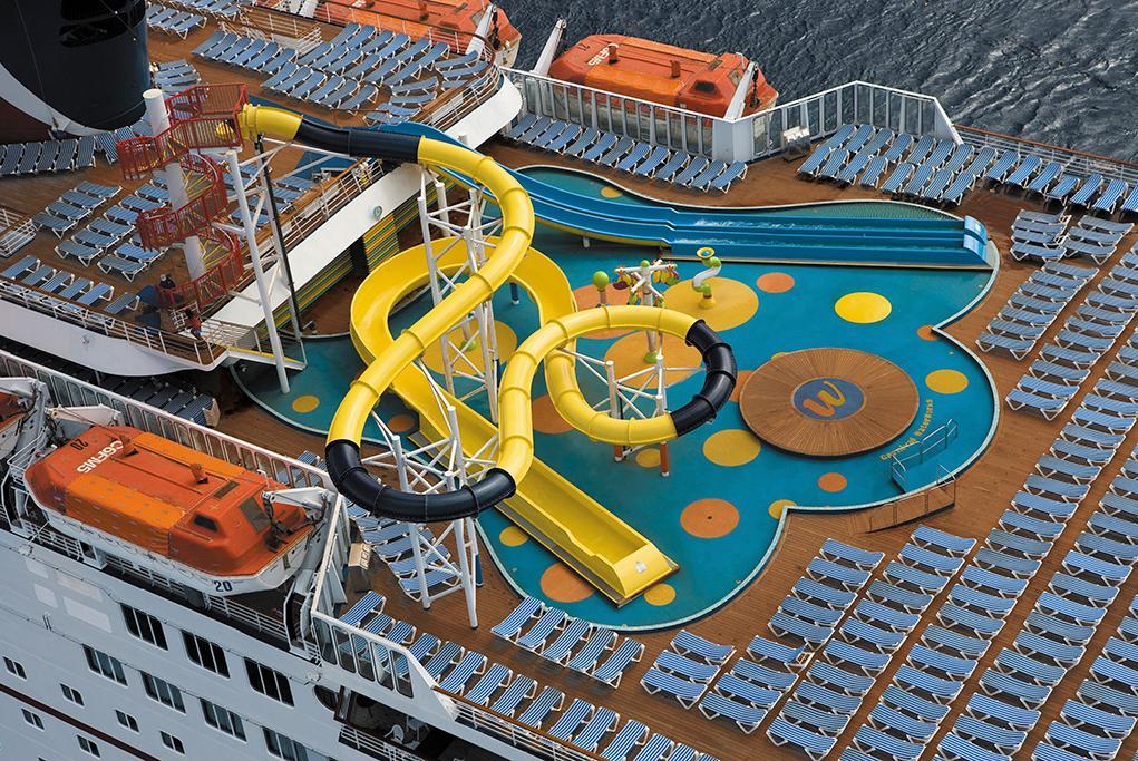 Camarote Zona acuática Waterworks - Carnival Inspiration