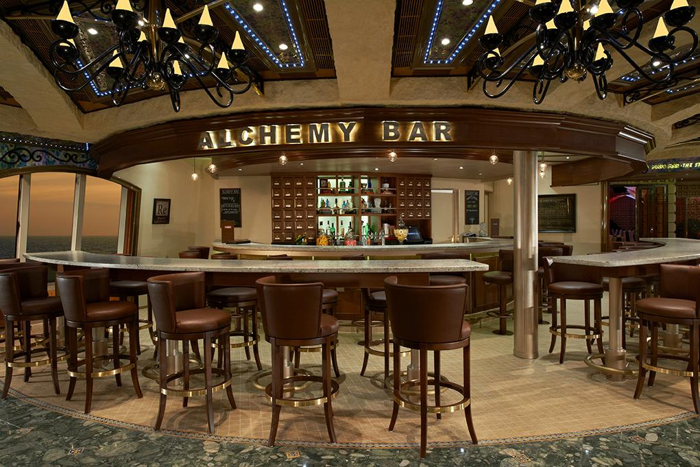 Camarote Alchemy Bar - Carnival Liberty