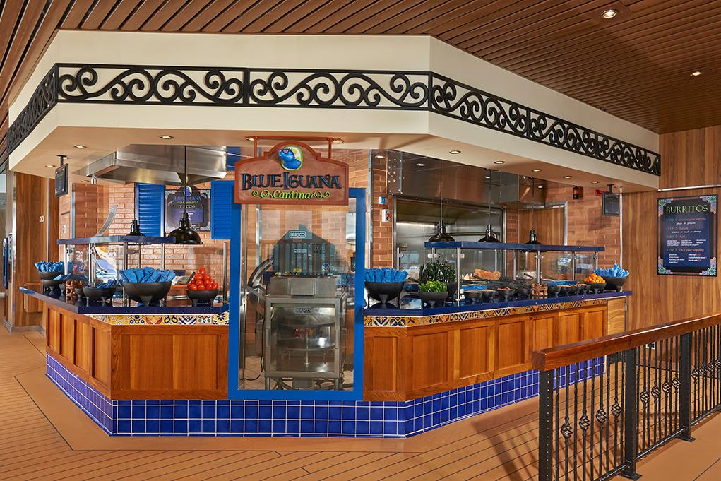 Camarote Blue Iguana Cantina - Carnival Magic