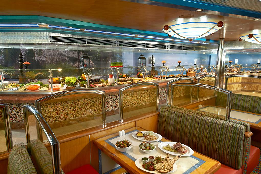 Camarote Buffet Lido - Carnival Magic