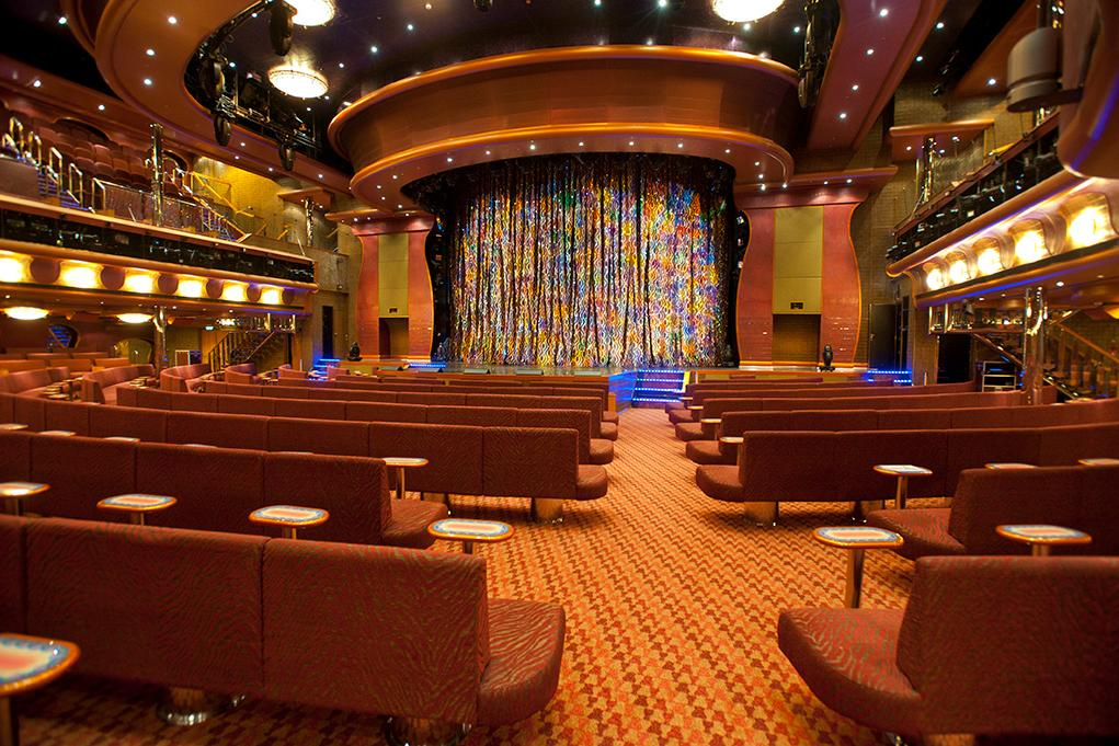 Camarote Teatro Encore - Carnival Magic