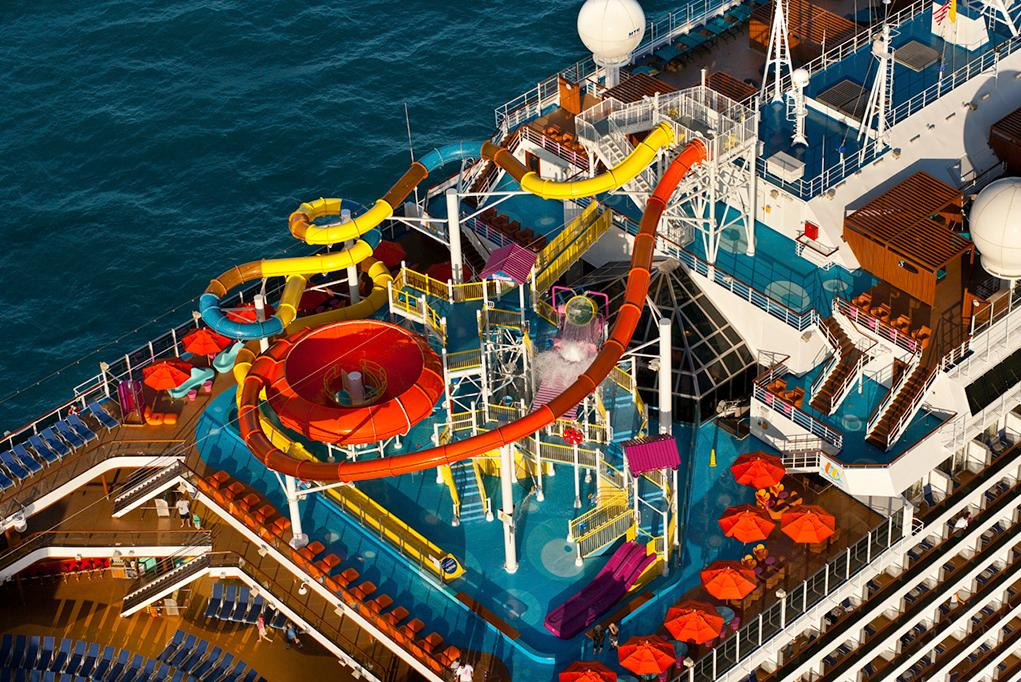 Water-Slides Carnival Magic