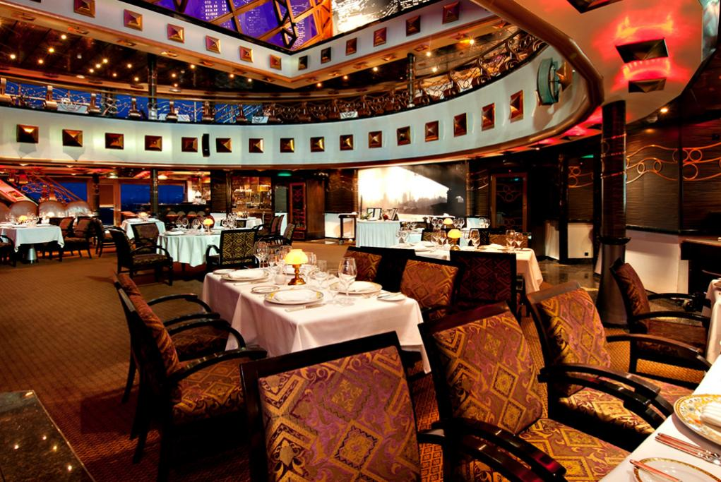 Restaurante-Steakhouse Carnival Miracle