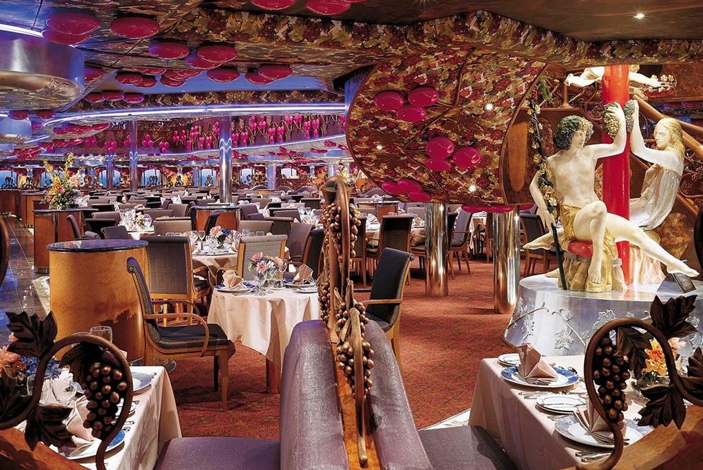 Restaurante-principal-Bacchus Carnival Miracle