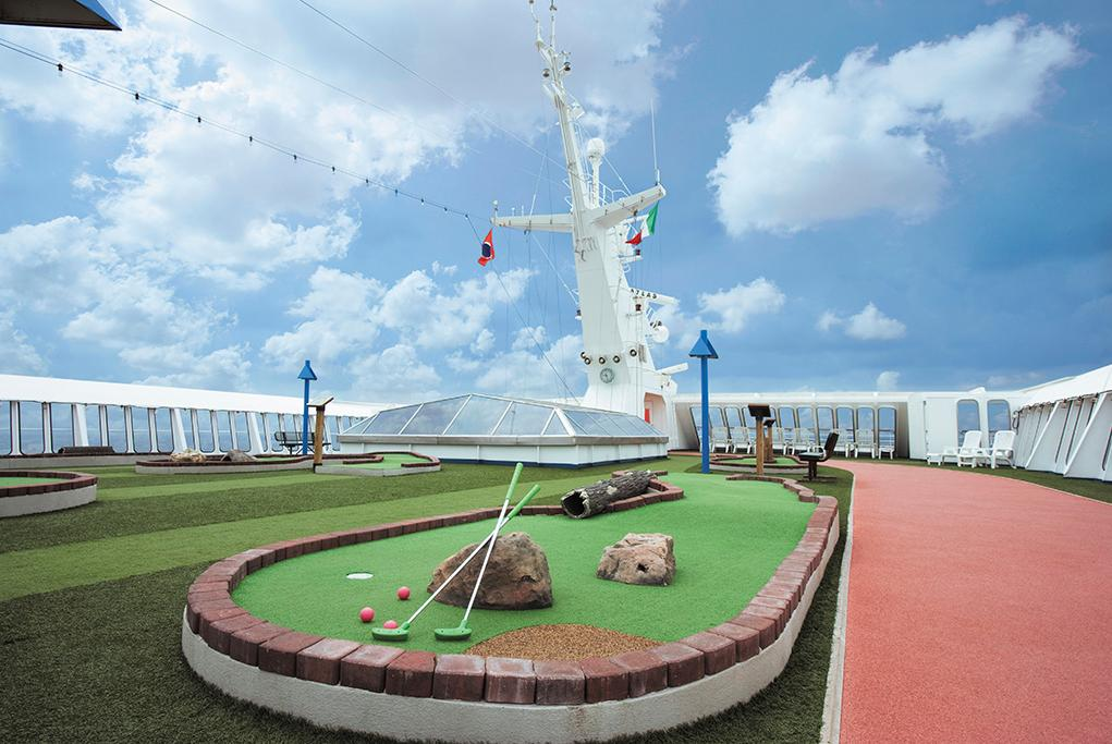 Minigolf Carnival Paradise