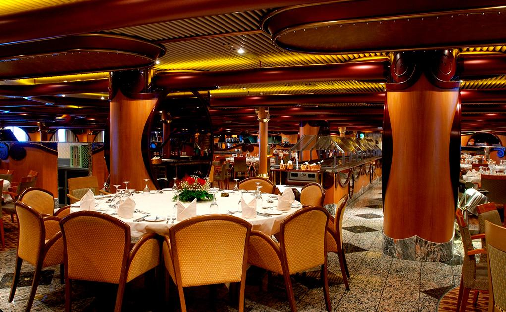 Camarote Restaurantes principales - Carnival Paradise