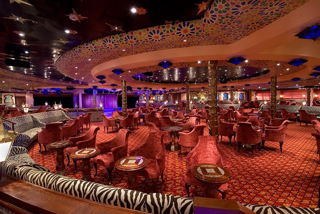 El-Moroccan-Lounge Carnival Splendor