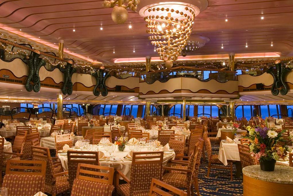 Restaurante-Principal-Gold-Pearl Carnival Splendor