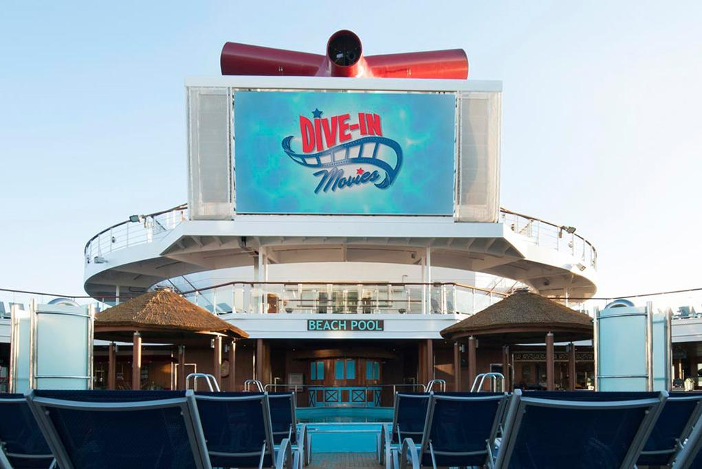 Camarote Dive-In Movies - Carnival Sunshine