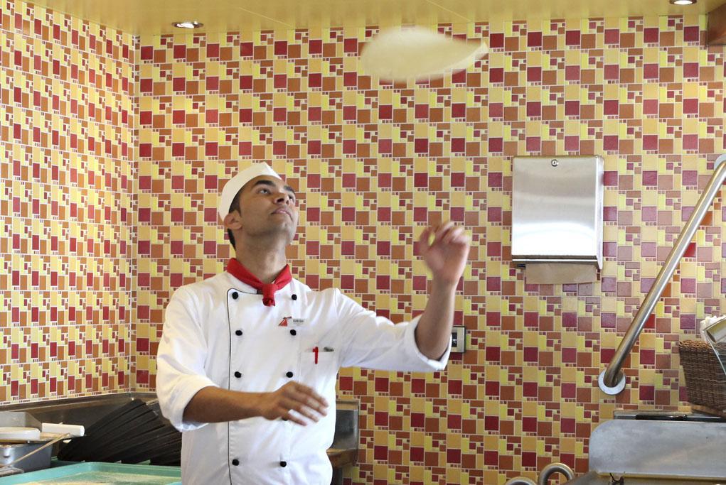 Camarote Pizzas 24h al día - Carnival Triumph