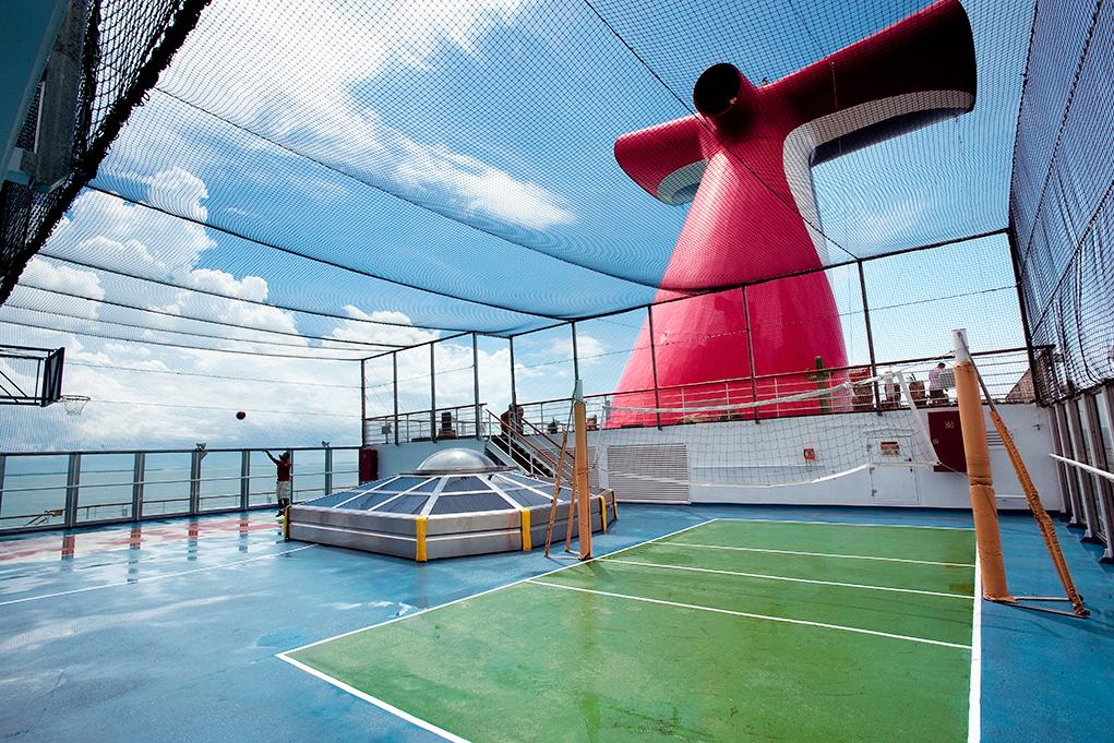 Camarote Deportes a bordo - Carnival Valor
