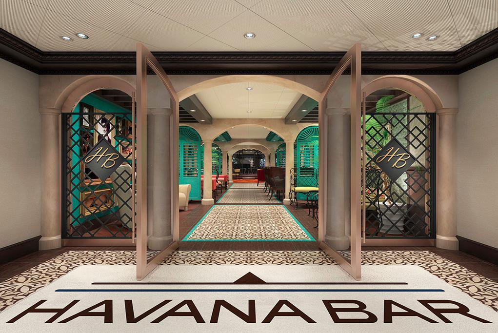 Havana-Bar Carnival Vista