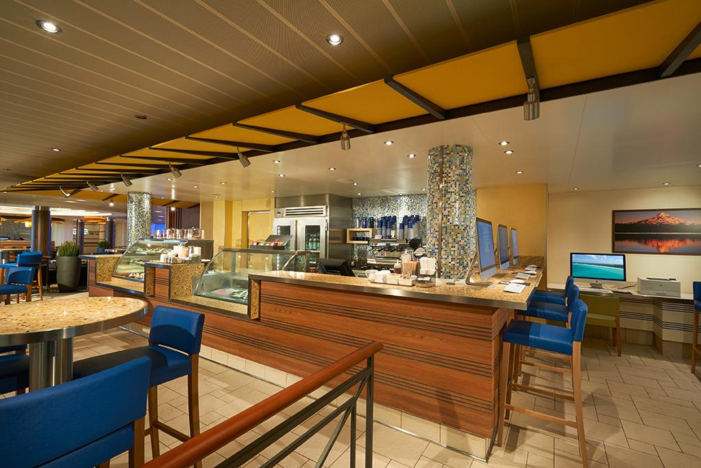 Java-Blue-Cafe Carnival Vista