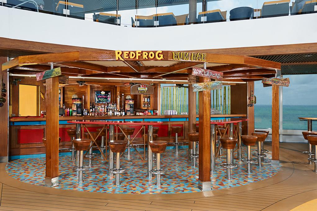 Camarote Red Frog Bar - Carnival Vista