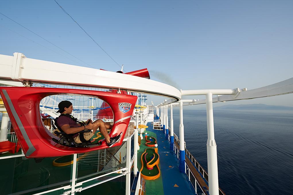 Camarote SkyRide - Carnival Vista